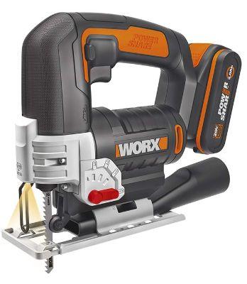 Sierra caladora Worx WX543 de bateria