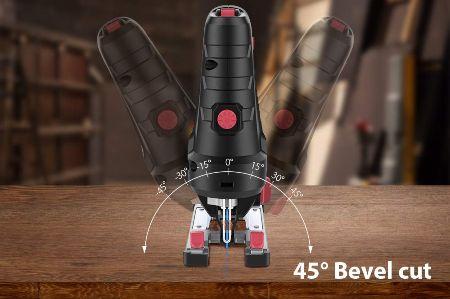 Caladora de mano para bricolaje de 500W - corte a 45º